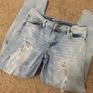 Rue21 ripped jeans